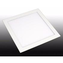 10 Luminária Embutir 30x30 Plafon Led 32w Class Aaa Branca