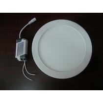 5 Plafons Luminaria Led 18 Watts Branco Frio Bi-volt 22 Cm