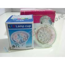 Kit Spot Direcionável Branco + Lampada 20 Leds Branco Quente