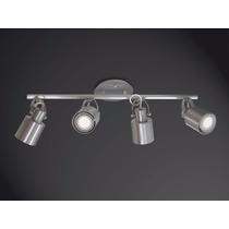 Spot Flex De Alumínio Trilho P/ 4 Lâmpadas E27 - Cód. 418-4