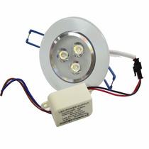 Kit 20 Lampada Dicroica Spot 3w Angulo 30 Graus Branco Frio