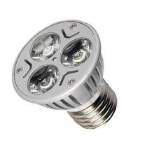 Lampada Spot Led Dicroica Branco Quente 4w E27 Bivolt Super