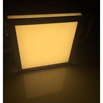 Painel Plafon Luminaria Sobrepor Teto Led Quadrado Spot 25 W