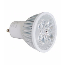 Lâmpada Led Dicroica Gu10 4w 6400k Branco Frio Bivolt