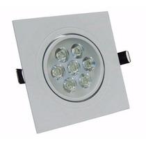 Lampada Spot 7w Super Led Quadrado Direcionável Sanca