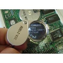 Mini Lupa 30x 21mm - Inox Relojoeiro Joalheiro Profissional