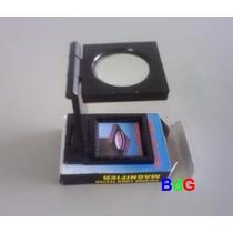 Lupa Conta-fios C/ Escala De 0 - 15mm; 0 -3/4 , 8x Na Caixa