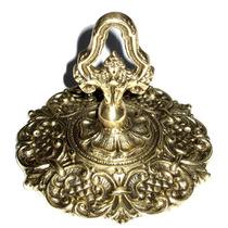 Plafonier Canopla Para Lustres Base Lustre Suporte - Bronze