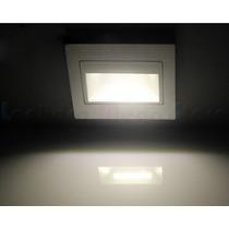 Luminária Balizador Para Escadas Led Branco Frio - Branco