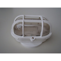 Lustre Arandela Tartaruga C/ Grade P/ Teto Parede Exterior
