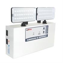 Iluminação De Emergência Bloco Autônomo Farolete 2000 Lumens