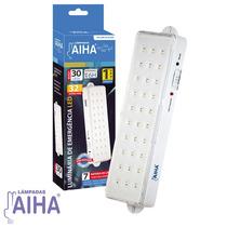 Luminária De Emergência 30 Leds - Bivolt - Aiha