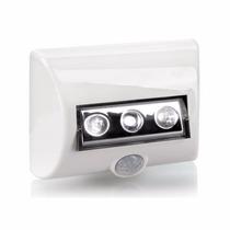 Kit 3 Luminária Led Nightlux Com Sensor De Presença Osram