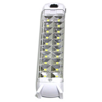 Kit 10 Luminarias Luz Emergencia Super Led Com 20 Leds