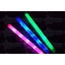 Bastao Luminoso Kit C/ 5 Un Festa 3 Opçoes De Luz Colorido