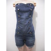 Macaquinho Tqc Jeans Planet Girls Tam 36 Usado Ótimo Estado