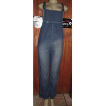Macacao Jeans Feminino Tamanho 40 Frete Gratis