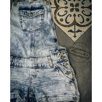 Jardineira Jeans Feminana Revanche