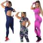 Macacão Feminino Fitness Suplex-gym -academia -ginastica