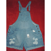 Jardineira Plus Size Tamanho 54 Jeans E Colorido