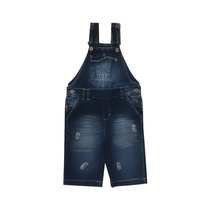 Macacão Jeans Infantil Tamanho 6 Com Regulagem Masculino
