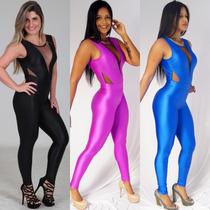 Macacão Malhar Roupa Feminina Academia Ginástica Fitness