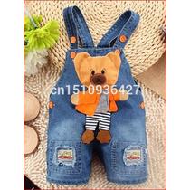 Macacão Jeans Infantil Masculino