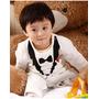 Macacão Terninho Branco Importado Bebê