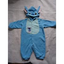 Macacão Do Stitch Importado Disney Store Infantil Usado