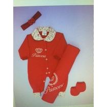 Saída De Maternidade Bebe - Princesa - Enxoval De Bebe