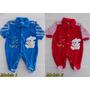 Macacão De Bebê Plush Menino - Tamanho P - Preço Imperdivel