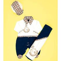 Saída De Maternidade Pequeno Príncipe Azul/palha - P