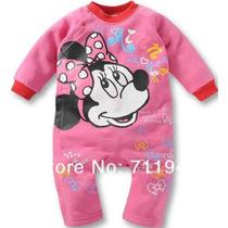 Macacão Bebê Disney Minnie E Mickey