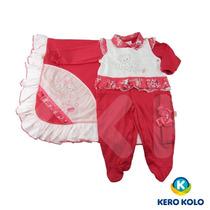 Kit Saída De Maternidade Paraíso Moda Bebe Luxo P Kero Kollo