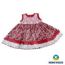 Kit 3 Vestido Baby, Kero Kollo Luxo Qualidade Direto Fábrica