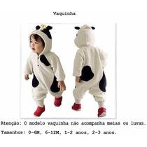 Macacão Fantasia Bebê Bichinho Lindos Modelos Frete Grátis