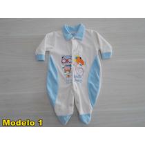 Macacão De Bebê Plush Menino - Tamanho G - Preço Imperdivel