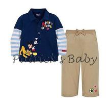 Conjunto Infantil Mickey Importado - Pronta Entrega