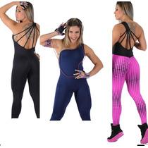 Macacão Feminino Fitness -suplex - Diva -academia-ginastica