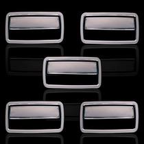 Aplique Capa Maçaneta Chevrolet S-10 S10 Cromada Acessórios