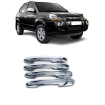 Kit Aplique Maçaneta Cromada Hyundai Tucson Todos Modelos