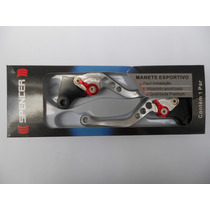Manete Esportivo Titan 125/150 A Lona Prata Spencer 13507