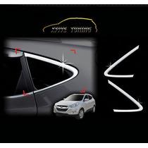 Friso Triângulo Vidros Laterais Cromado Hyundai Ix35