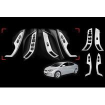 Aplique Cromado Apoio De Braço Interno Hyundai Elantra