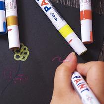 Kit Com 4 Caneta Tinta Branca Pinta Pneus O Legítimo