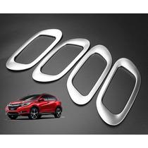 Honda Hrv Moldura Prata Interna Maçaneta Acessórios