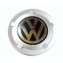 Calota Roda Central Estepe Cross Fox Com Emblema -prata