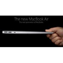 Macbook Air 13 I5 4gb 128gb Mod 2015 Novo! 12x Sem Juros!