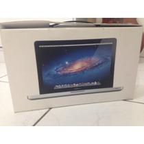 Caixa Macbook Pro 13 Com Todos Os Manuais