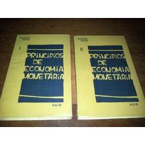 Princípios De Economia Monetária - Gudin - Volumes 1 E 2